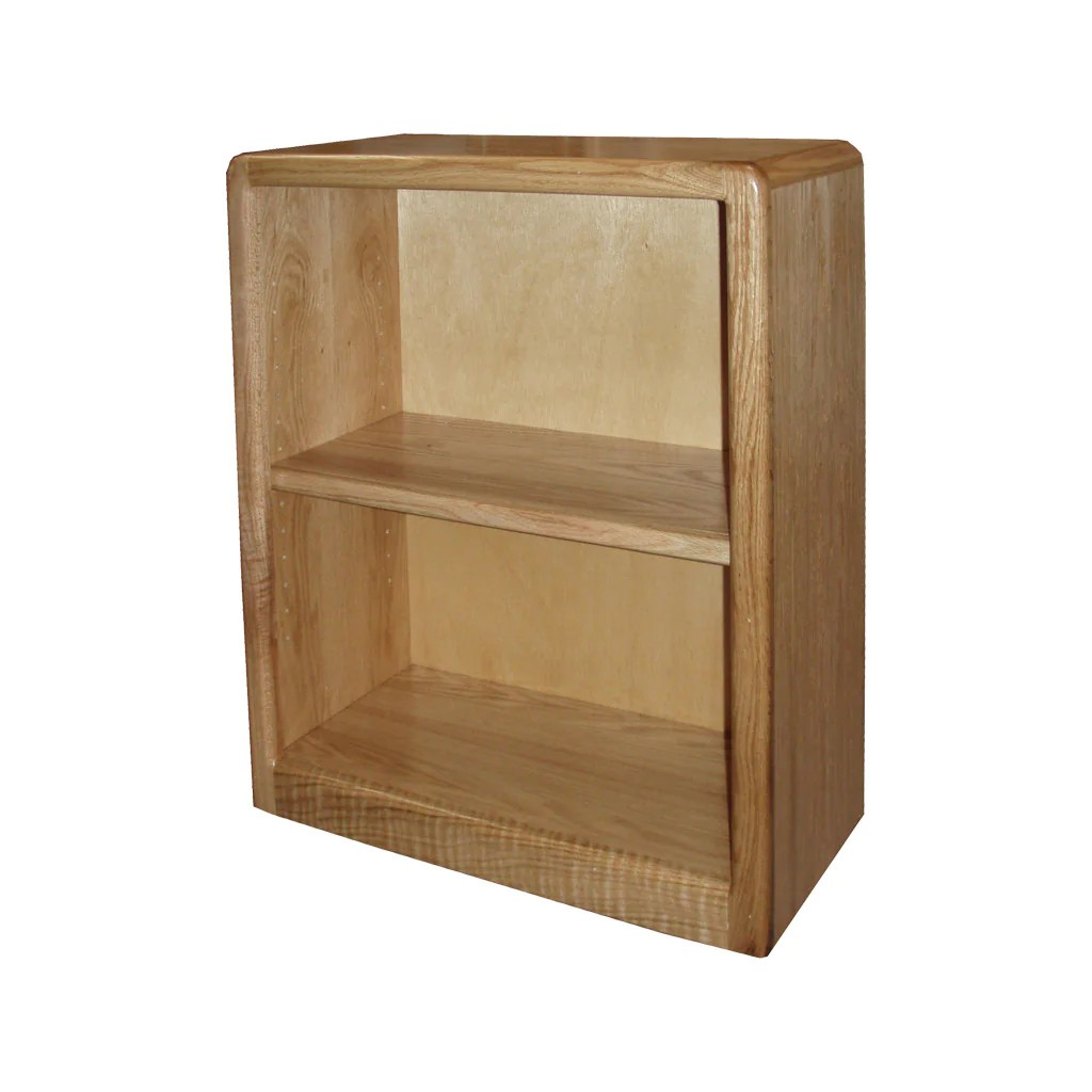Od O C2430 Contemporary Oak Bookcase 24 W X 12 D X 30 H