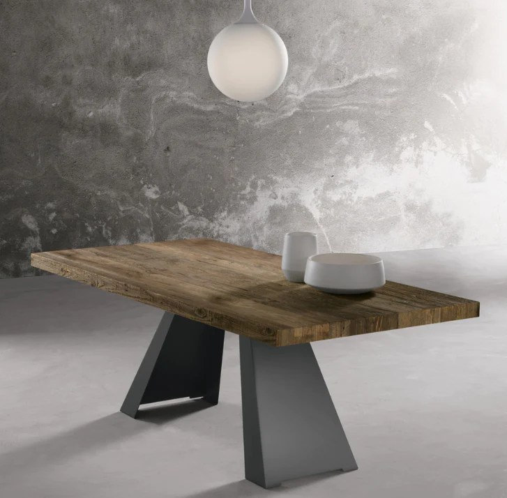 silver solid wood dining table 160cm 180cm 200cm