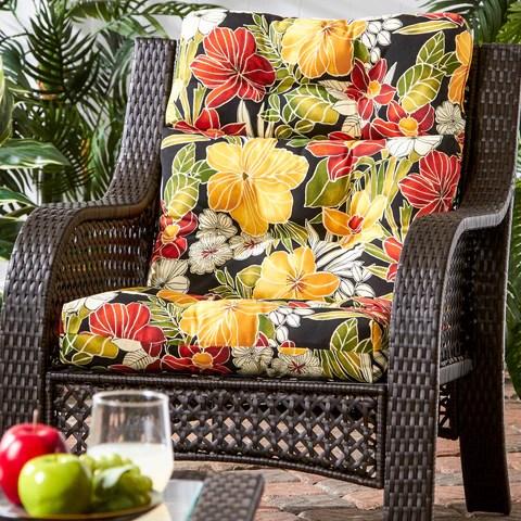 44 X 21 Outdoor Highback Chair Cushion Cushions Direct