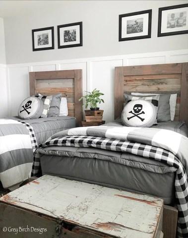 modern gray best bedding for tween