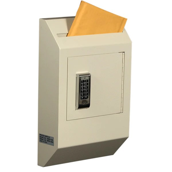 Protex WDB 110E Letter Size Wall Drop Box With Electronic