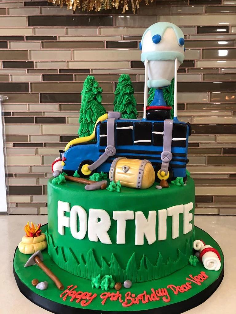 Fortnite Fondant Birthday Cake Rashmi S Bakery