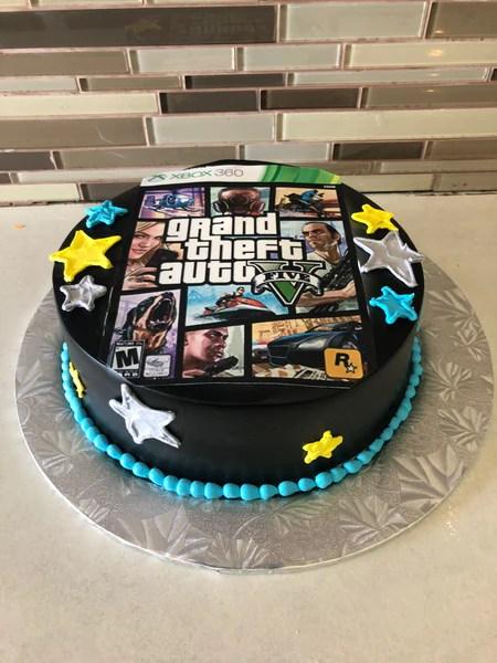 Gta Birthday Cake Rashmi S Bakery