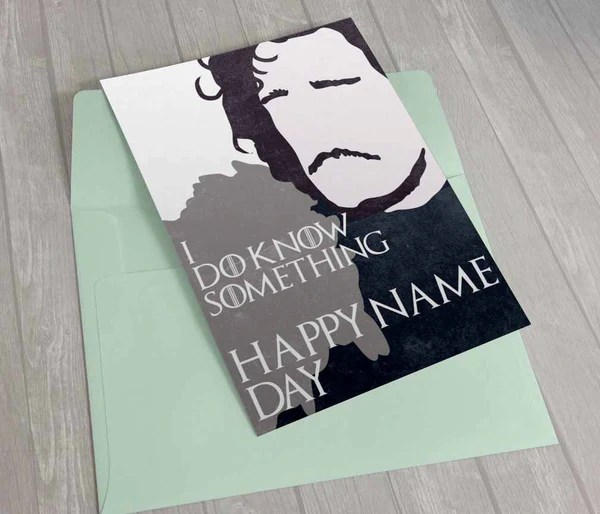 Game Thrones Birthday E Cards