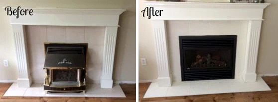 how to paint fireplace tile with chalk
