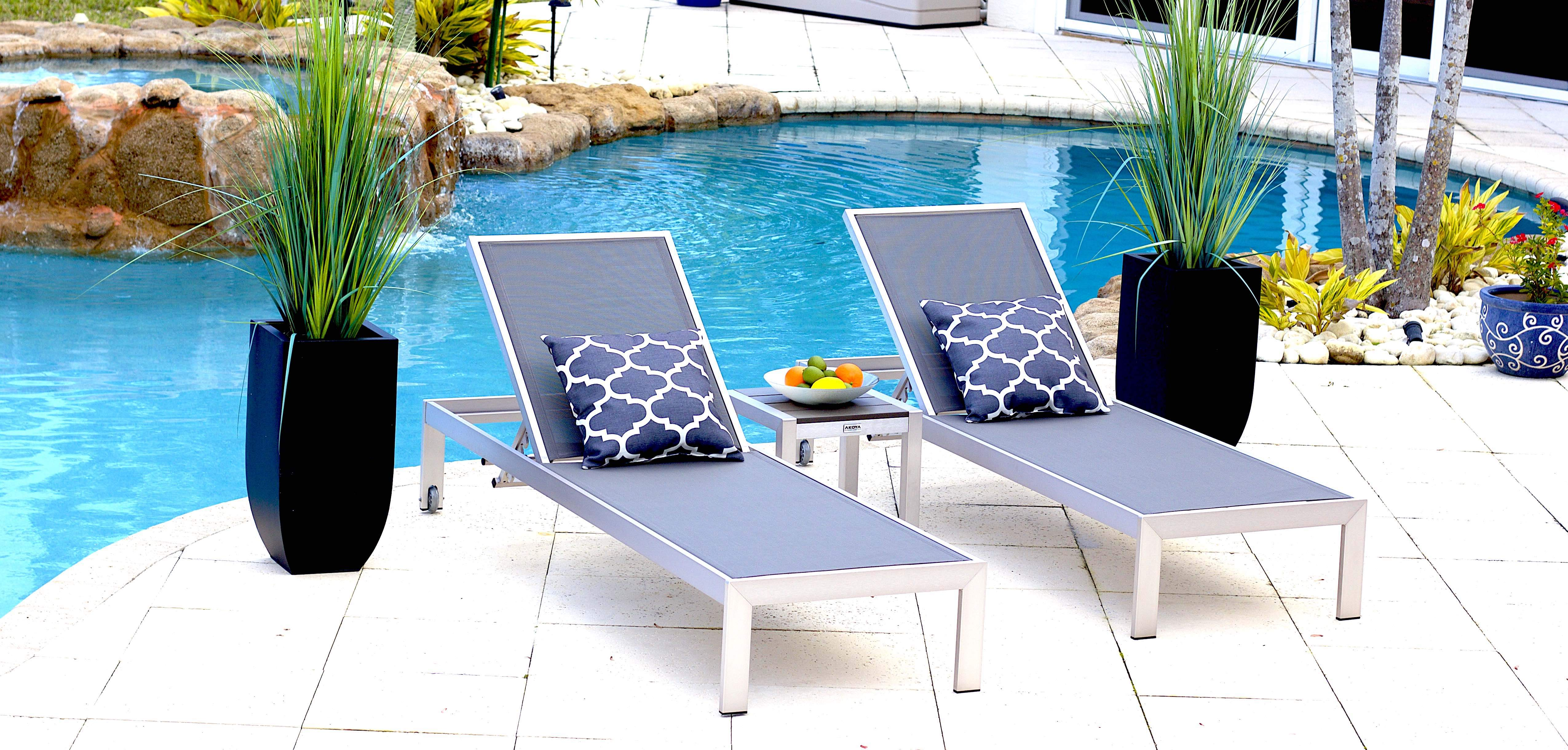 outdoor chaise lounge and patio chaise