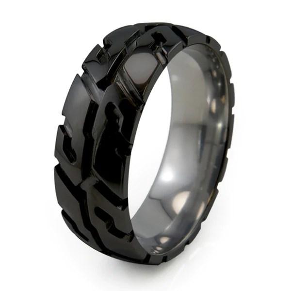 Titanium Rings Custom Crafted In North America