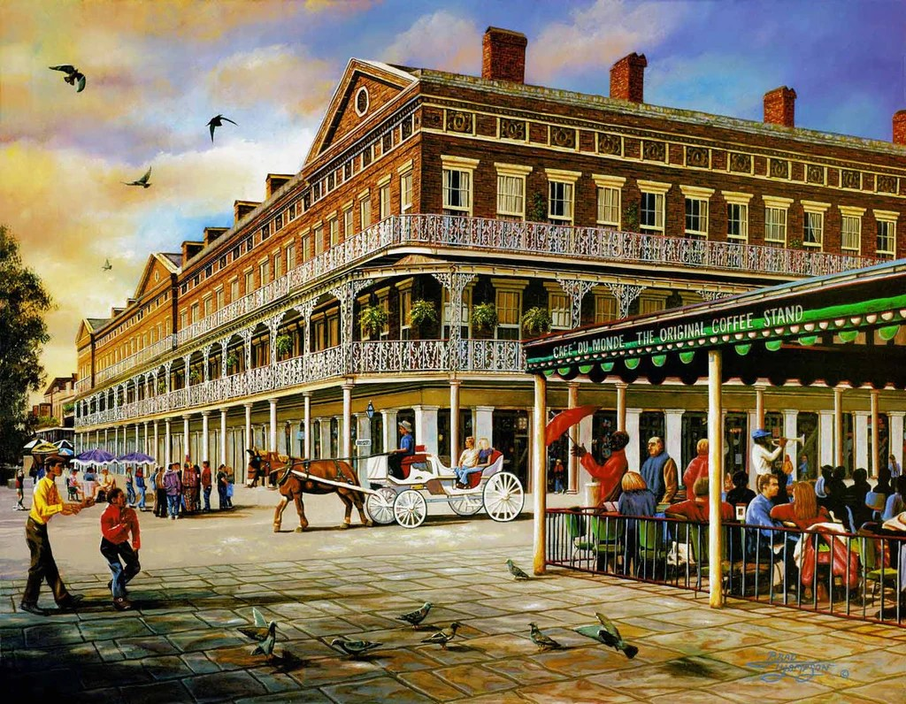 Brad Thompson Fine Art New Orleans Art Galleries