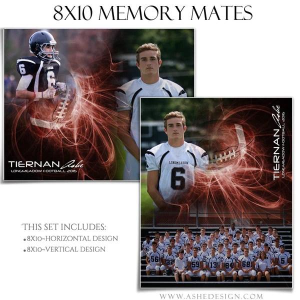 Sports Memory Mates 8x10 Mystic Explosion Football