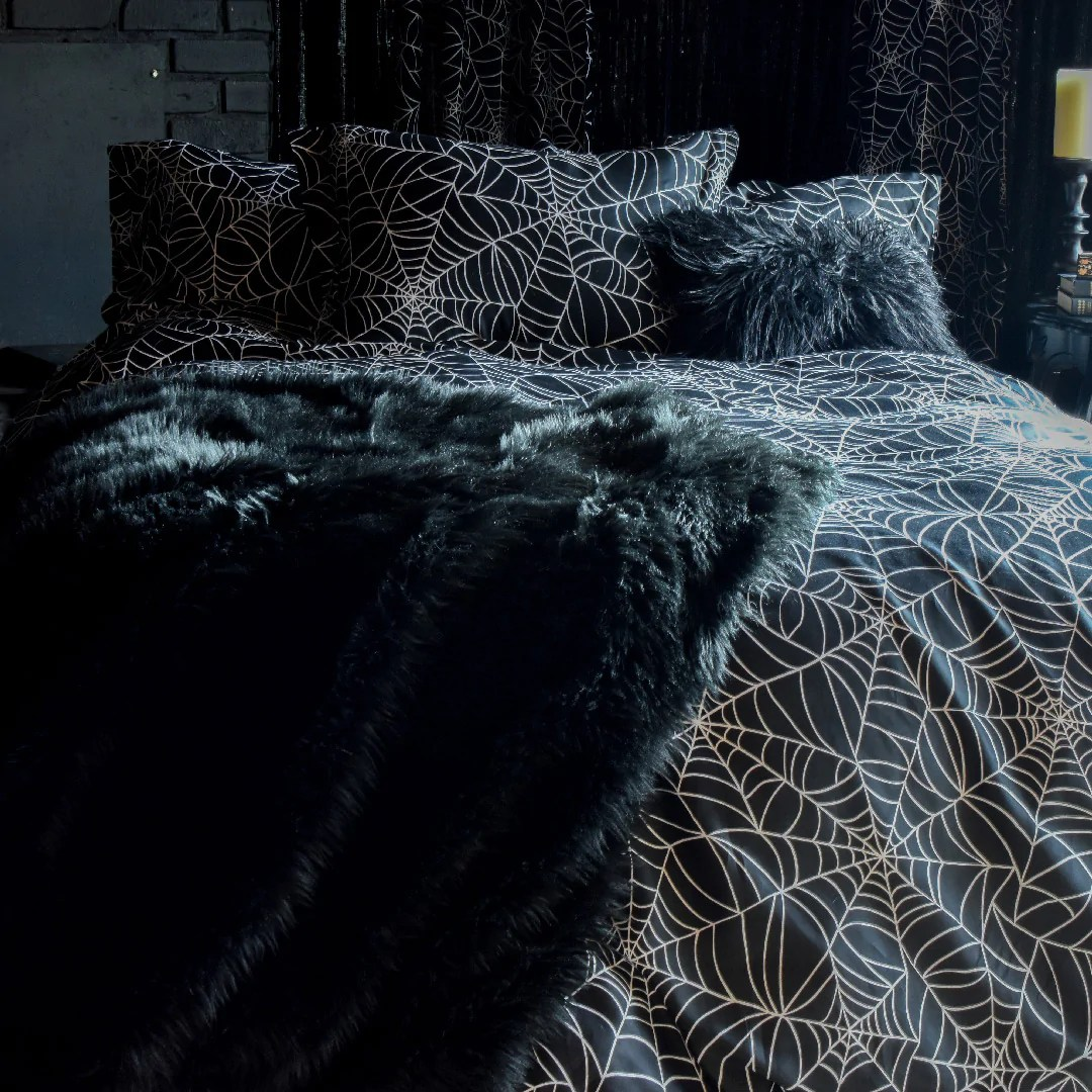 gothic bedding and decor dark glamor