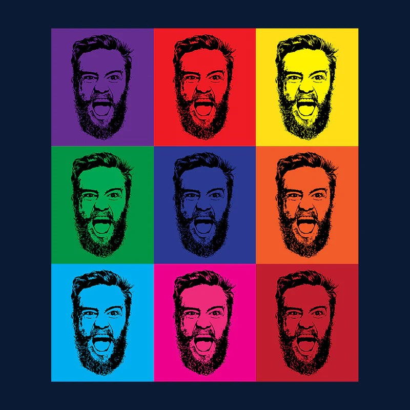 Andy Warhol Pop Art Conor McGregor Cloud City 7