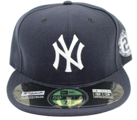 fb536dc66fc New York Yankees Hat with Derek Jeter Retirement Chromaflex Patch ...