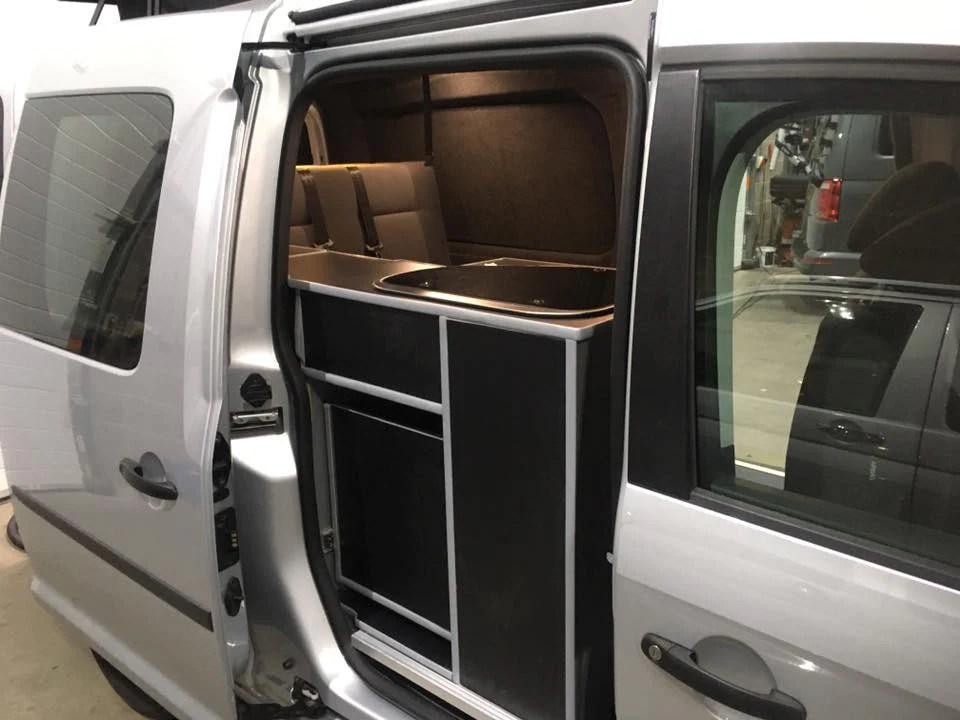 Volkswagen Caddy Conversions SJ Campers