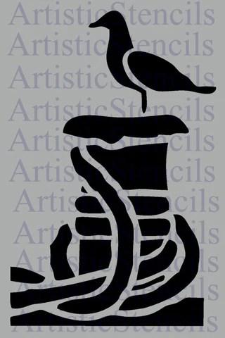 Nautical Amp Sea Life Stencils Artistic Stencil Designs