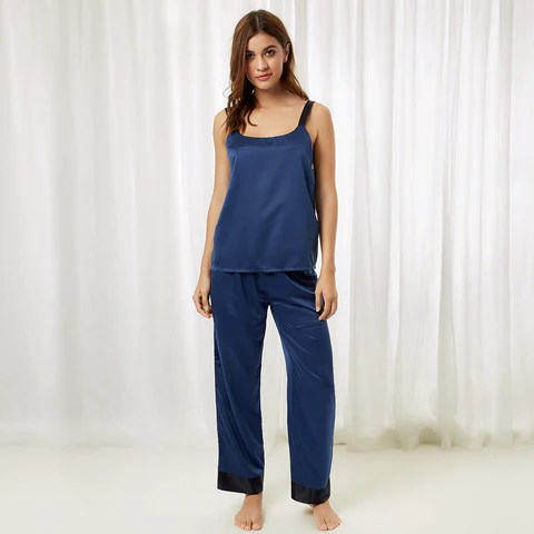 Anna Cami and Trouser Insignia Blue