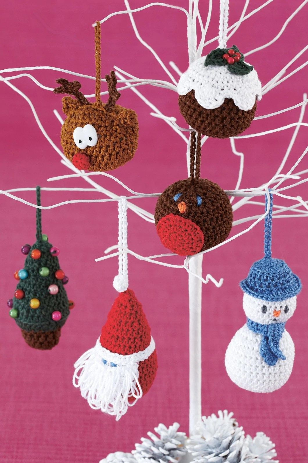 Knitting Patterns For Christmas Tree Decorations