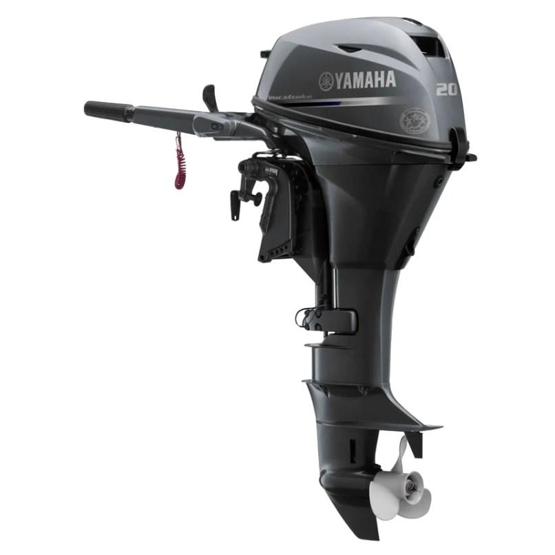 Yamaha 4 Stroke 20hp Tiller Handle