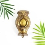 Sold Vintage Brass Owl Door Knocker Wise Apple Vintage