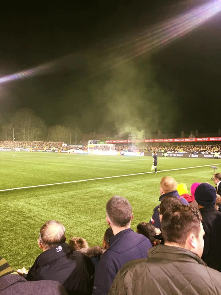 Flare at Sutton United