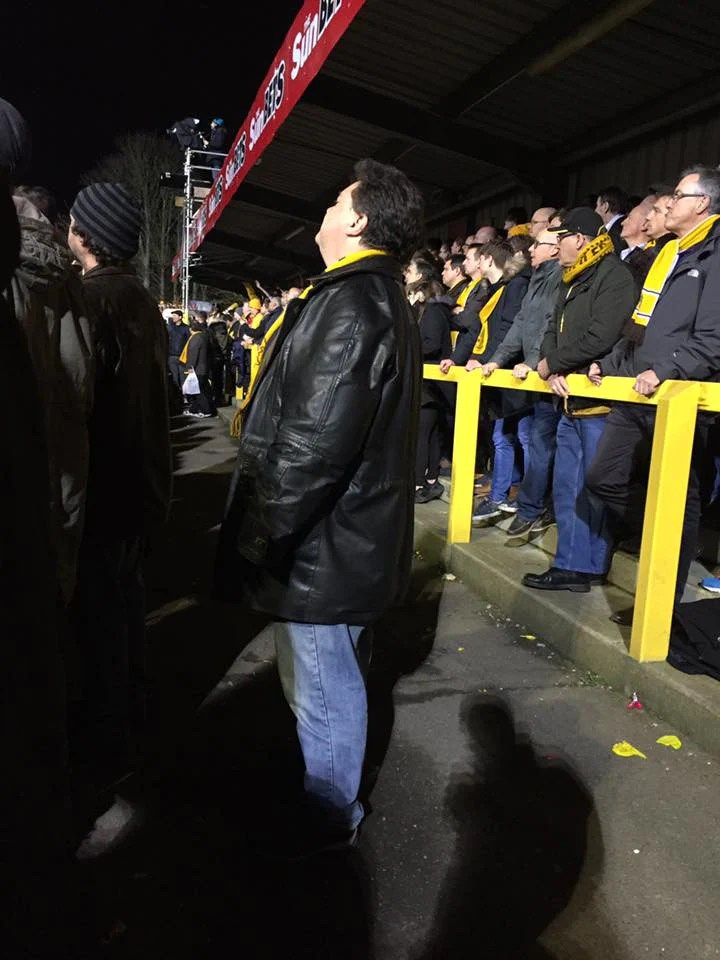 Sutton United fan
