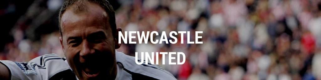 Vintage Newcastle United football shirts