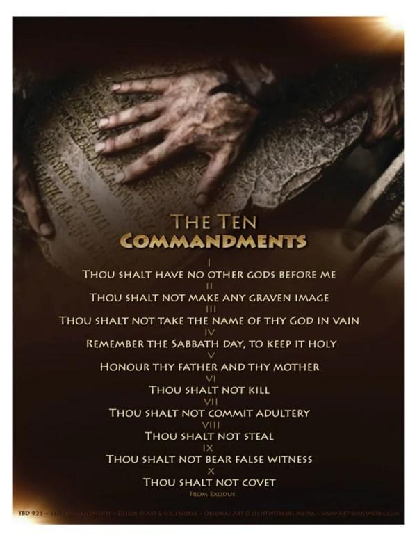 10 commandments # 31