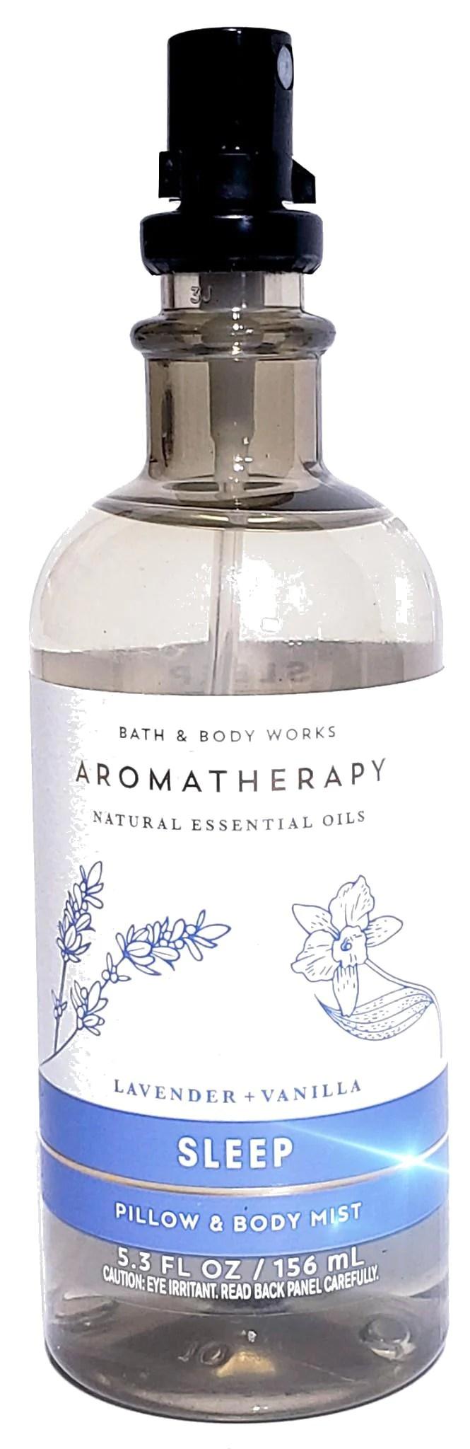 bath body works lavender vanilla body