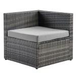 Zanna 5 Pc Configurable Outdoor Wicker Furniture Set