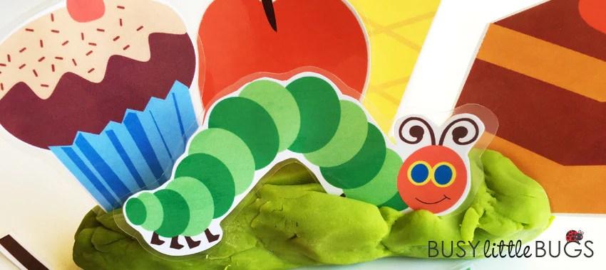 Freebie Friday The Hungry Caterpillar Playdough Set