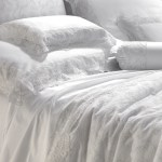 Luxury Lace Bed Linens Egyptian Cotton Sateen 600tc Made In Italy Belvivere