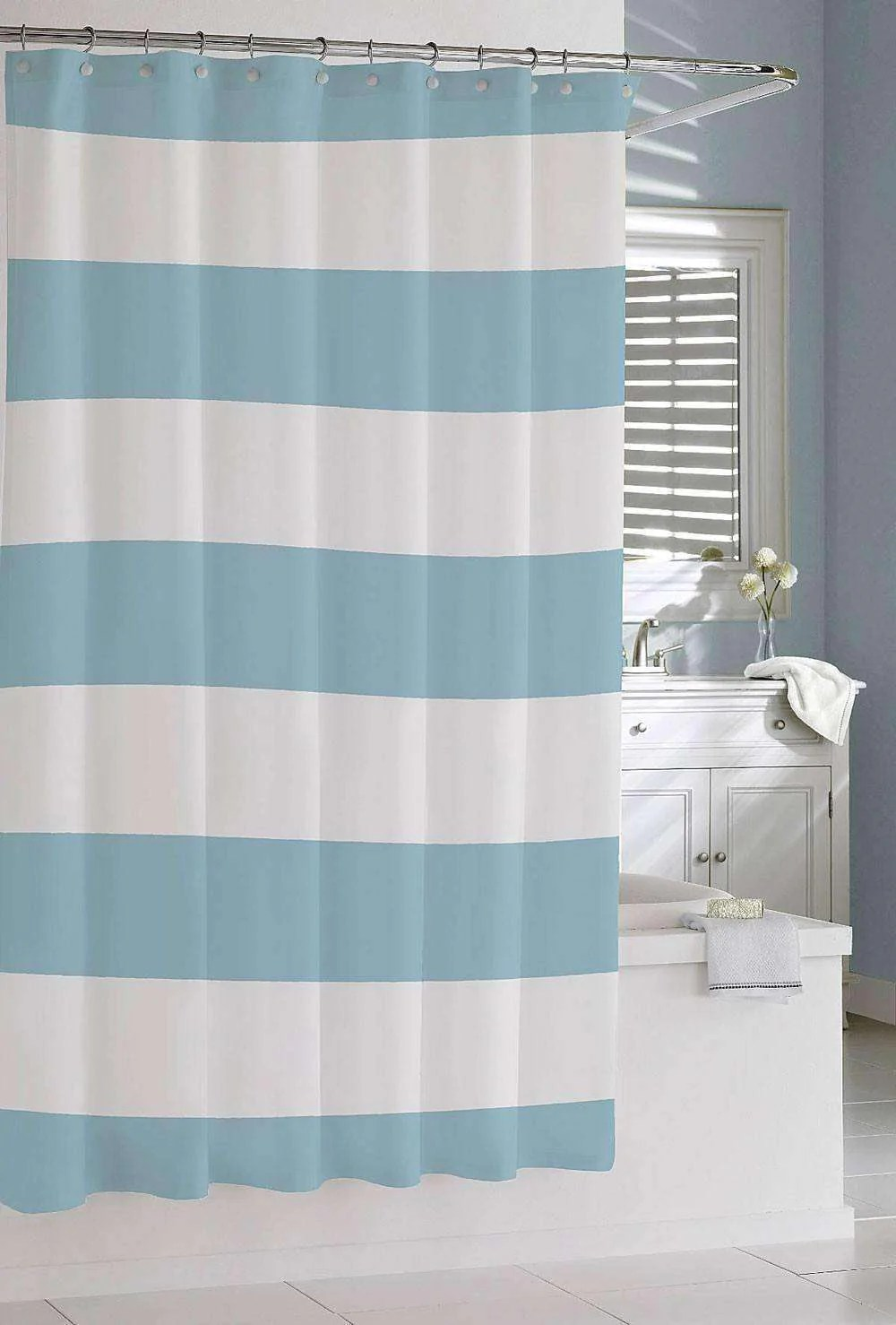 Arielle Stripe Shower Curtain