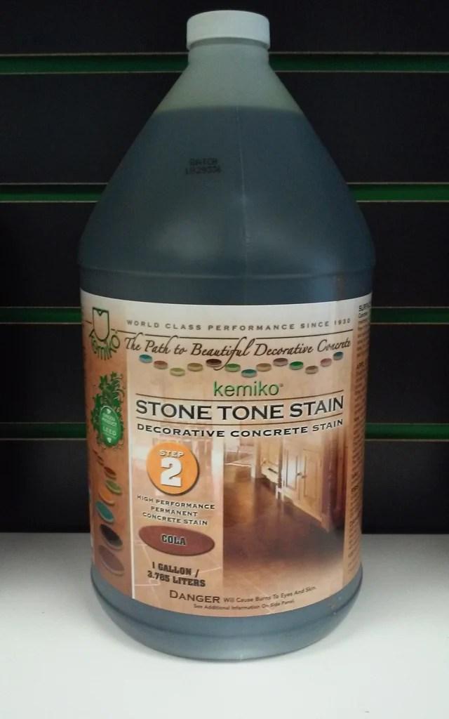 KEMIKO STONE TONE STAIN (Concrete Acid Stain) Gallon ... on Black Granite Stain  id=48506