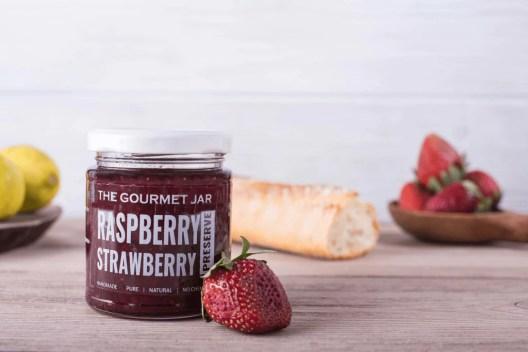 Raspberry Strawberry Preserve – The Gourmet Jar