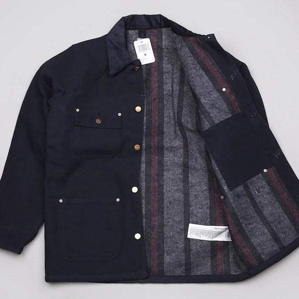 Carhartt Chore Coat Dark Navy Rigid Flatspot