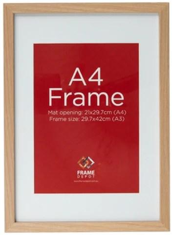 A4 Size Picture Frame Measurements Frameimage