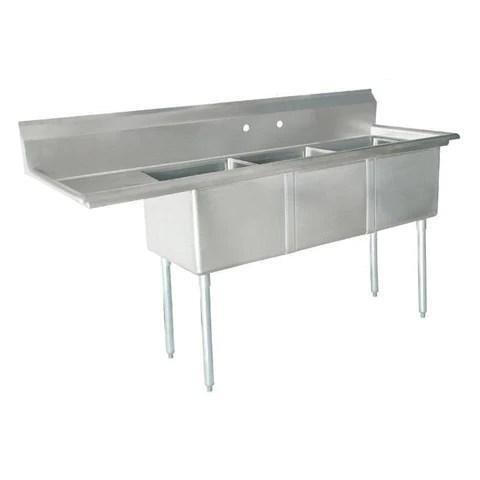nella stainless steel mop sink 24412