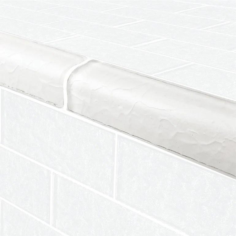 https www aquablumosaics com products white trim 2 x 6 glass tile