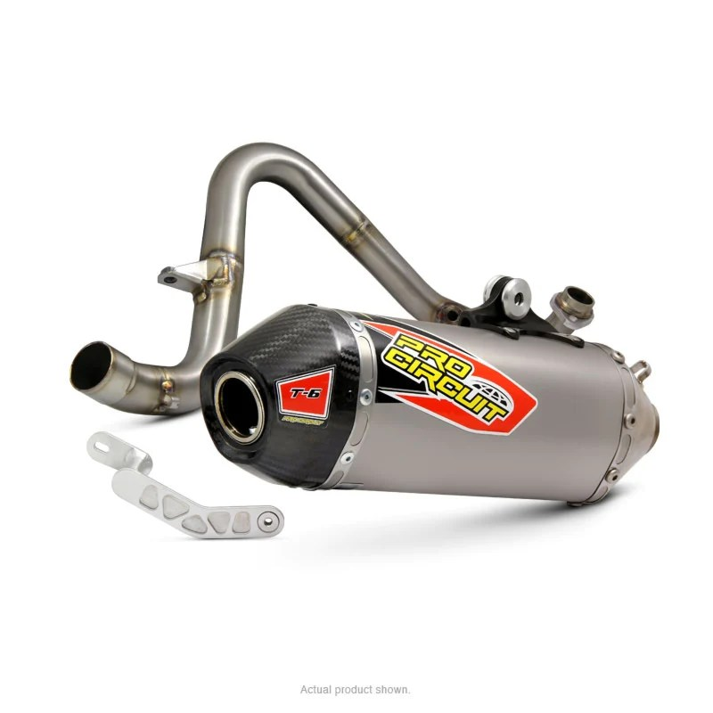 kawasaki t 6 z125 pro exhaust system