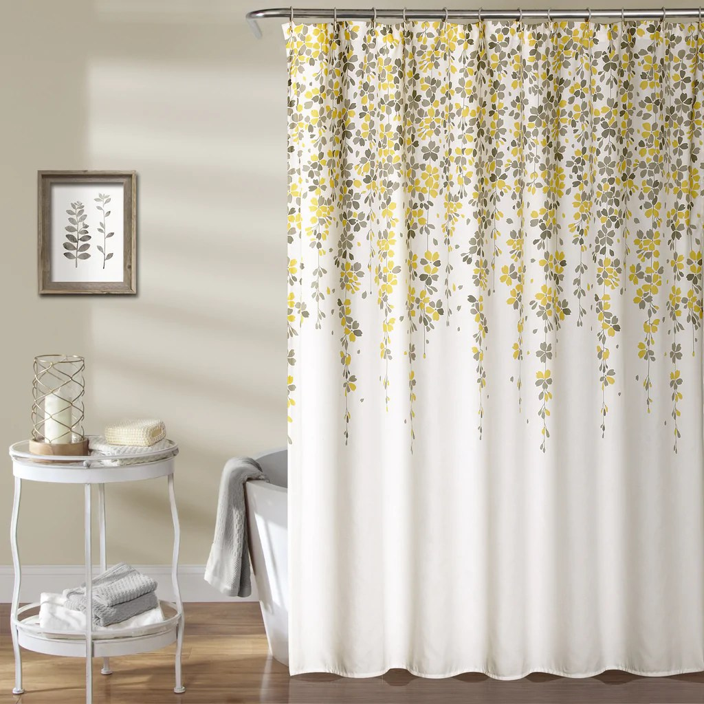 Weeping Flower Shower Curtain Lush Decor Wwwlushdecorcom