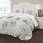 Serena 3 Piece Comforter Set Lush Decor Www Lushdecor Com Lushdecor
