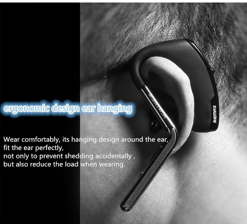 REMAX RB-T5 Adjustable Wireless Bluetooth Headset]
