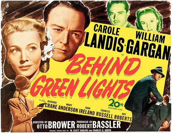 behind green lights 1946 movie poster