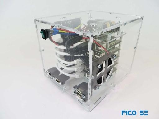 Pico Cluster 5E Raspberry Pi