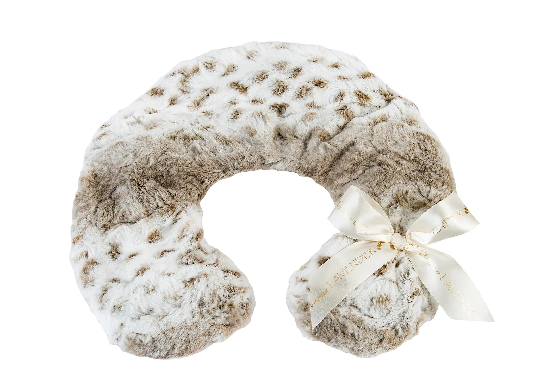 sonoma lavender arctic circle neck pillow