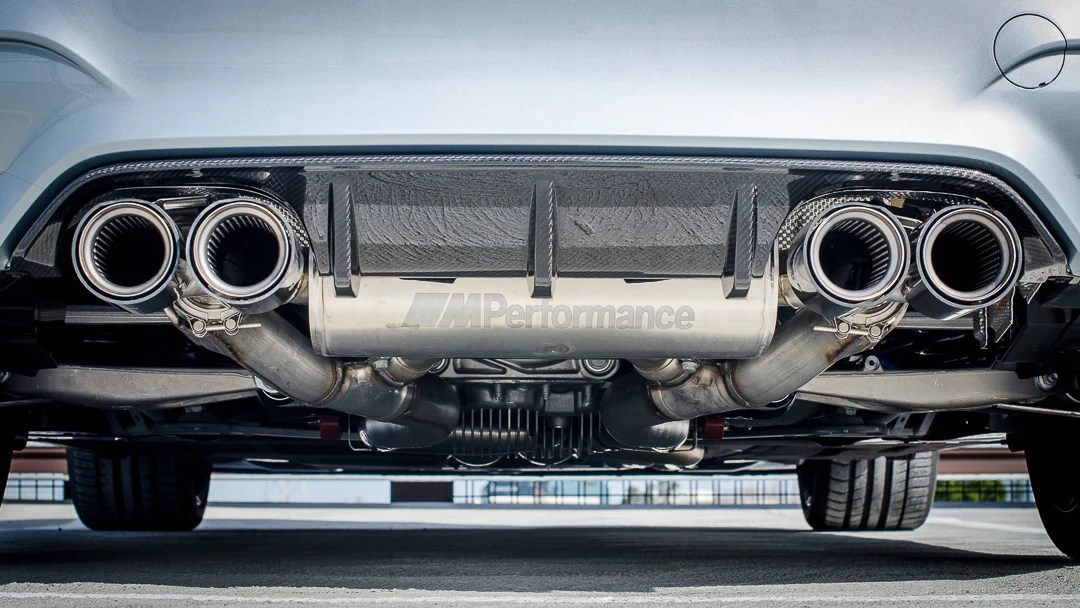 genuine m performance exhaust system suit bmw m3 m4 f80 f82 mode auto concepts