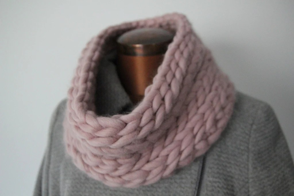Snugdown Snood Pattern Knit It Hook It Craft It