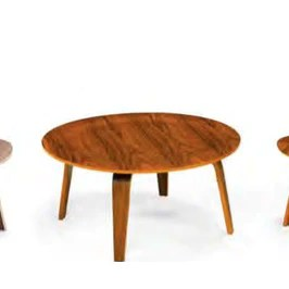 petite cherry wood cocktail table on sale taylor b design