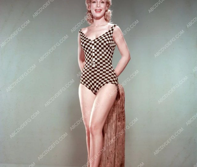 Barbara Eden Sexy In Checkered In Swimsuit Dp  Abcdvdvideo