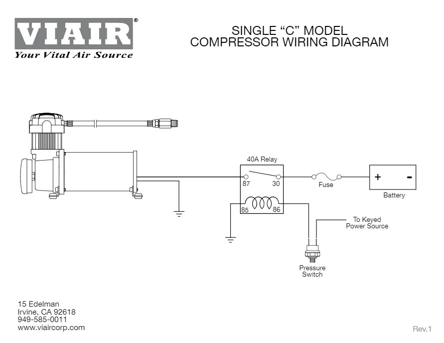 Wiring C Compressor Thermal Overload