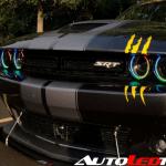 2015 2020 Dodge Challenger Rgbw Color Chasing Halo Kit Autoledtech Com